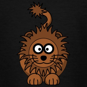 Happy Lion head - Teenage T-shirt