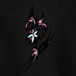 1pink flowers - Teenage T-shirt