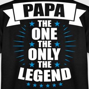 Papa The One De Endast Legend fäder - T-shirt tonåring