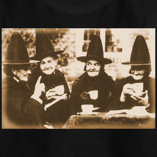 Witches Tea Party sepia - Teenager T-Shirt
