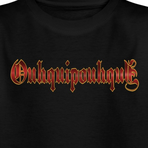 OUHQUIPOUHQUIH - T-shirt Ado