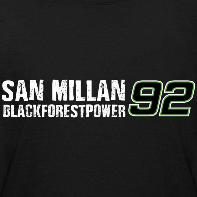 San Millan Blackforestpower 92 - vorne und hinten