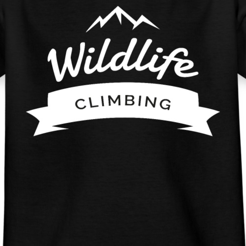 Wildlife Climbing Klettern - Teenager T-Shirt