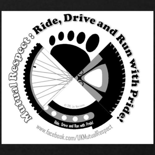 Ride Drive Run with Pride - Teenage T-Shirt