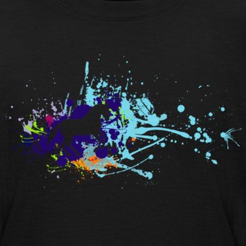 Galopp Klecks - Teenager T-Shirt
