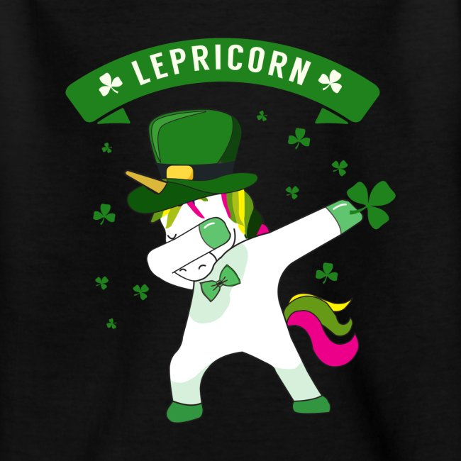 Lepricorn - St. patricks Day Unicorn dab pose