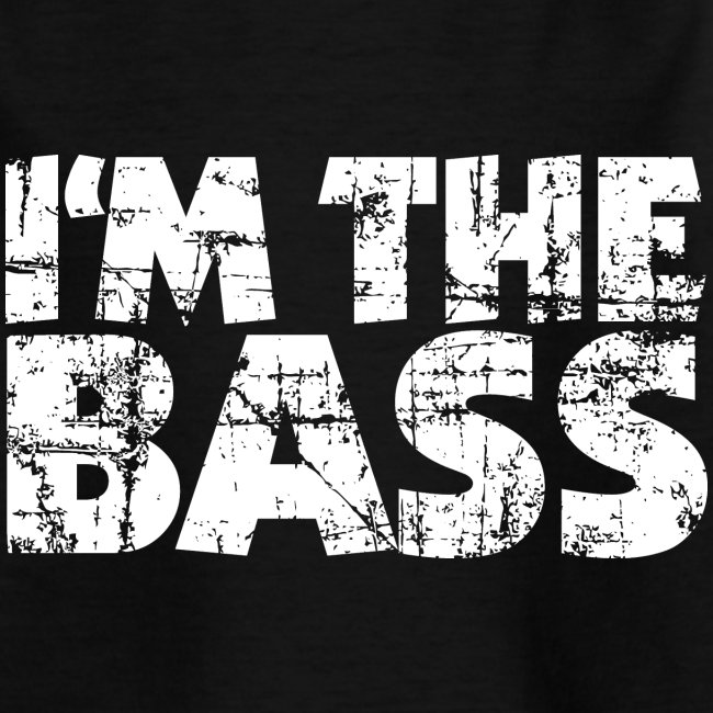 I'm the Bass Vintage White