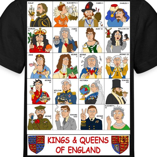 Kings Queens of England 1