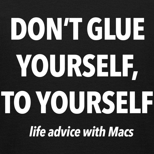 No glue with Macs