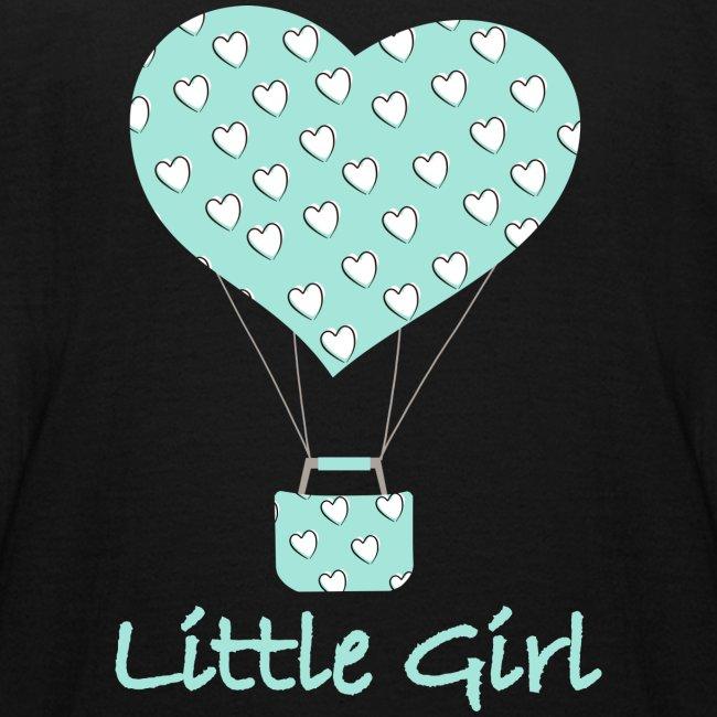 Little Girl in mongolfiera