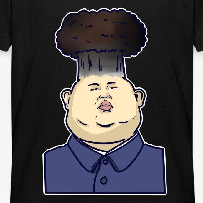 Shirtmeup Kim Jong Un Politician Satire Cartoon Nuclear Bomb