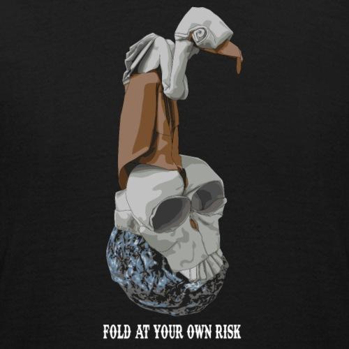 Vautour et crâne en origami
