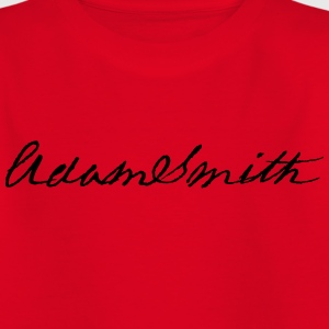 Adam Smith signature 1783 - Teenage T-shirt