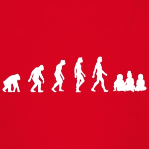 The Evolution Of Babies - Teenage T-shirt