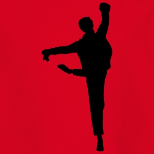 Vector Balletdanser Silhuet - Teenager-T-shirt