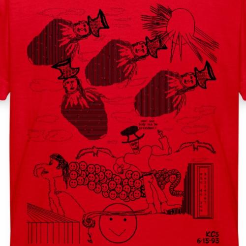 howdy thick black-kent - Teenager T-Shirt