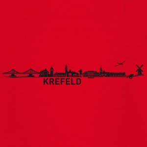 Krefeld skyline - Teenage T-shirt