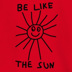 BE LIKE THE SUN - Teenage T-shirt