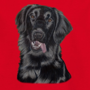 flatcoated retriever p - Teenager-T-shirt