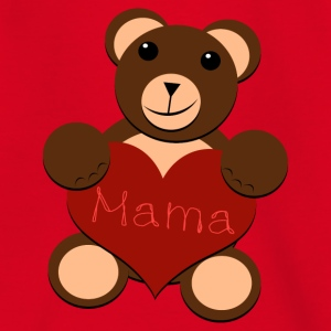 The Big Bear Heart - För mamma - T-shirt tonåring
