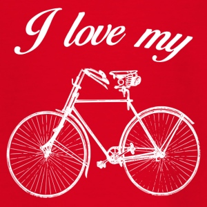 BIKE LOVE - Teenager T-Shirt