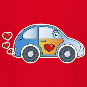Kids Car Toy Car heart colorful merry children - Teenage T-shirt