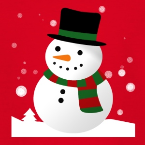 Snowman 1 - Teenager T-Shirt