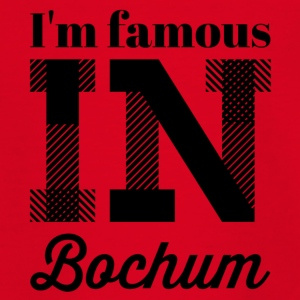 i m famous in bochum - Teenager T-Shirt