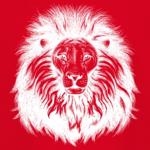 lion avec grand cheveux blancs - T-shirt Ado