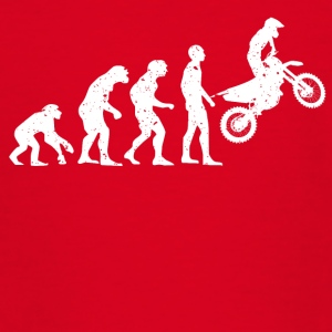 MOTORCYCLE EVOLUTION! - Teenage T-shirt