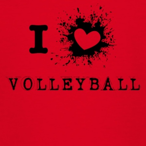 iLove Volleyball - Teenage T-shirt