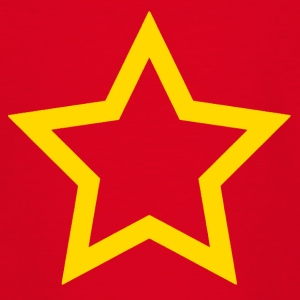Yellow star - Teenage T-shirt
