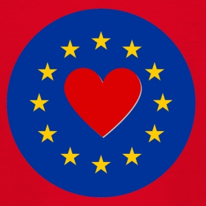 European Union EU Love Love - Teenage T-shirt