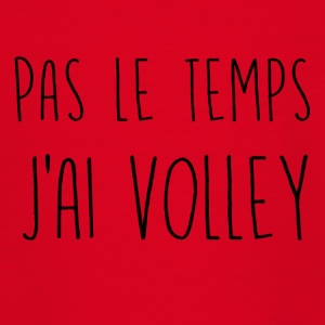 pas le temps volley - T-shirt Ado