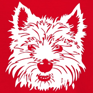 lille hund - Teenager-T-shirt