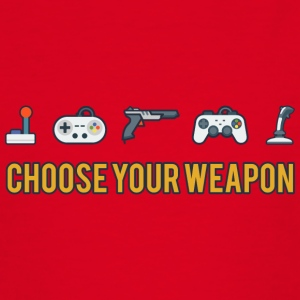 Choose Your Weapon 2 - Teenager T-Shirt