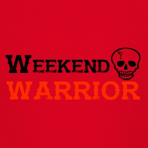 Shirt Weekend Warrior Weekend Party - T-shirt Ado