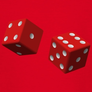 Red dice - Teenage T-shirt