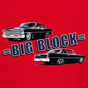 Big block Chevy II nova Super Sport - T-shirt Ado