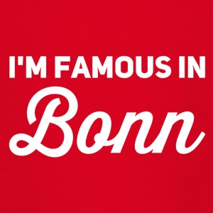 i m famous in bonn weiss - Teenager T-Shirt