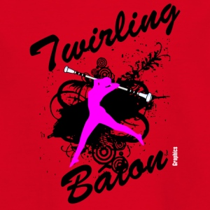 Twirling - Teenager T-Shirt
