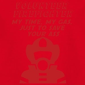 Feuerwehr: Firefighters - is all about ass-busting - Teenager T-Shirt