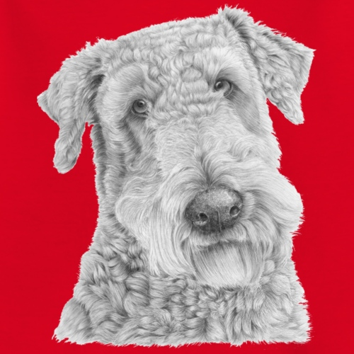 airedale terrier - Teenager-T-shirt