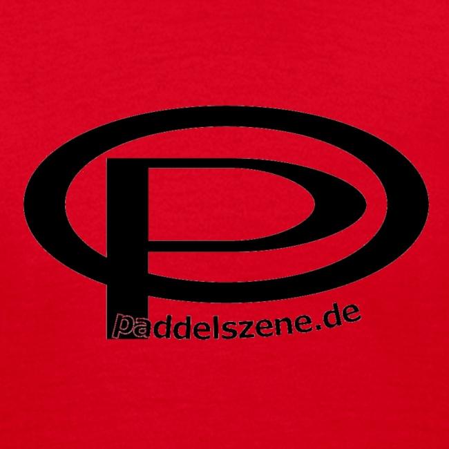 Paddelszene Logo schwarz