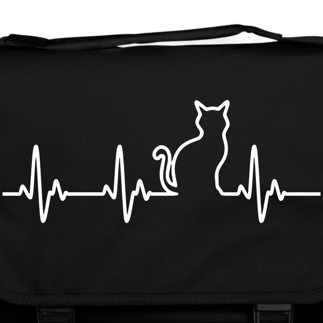 Vorschau: Ein Herz für Katzen - Umhängetasche