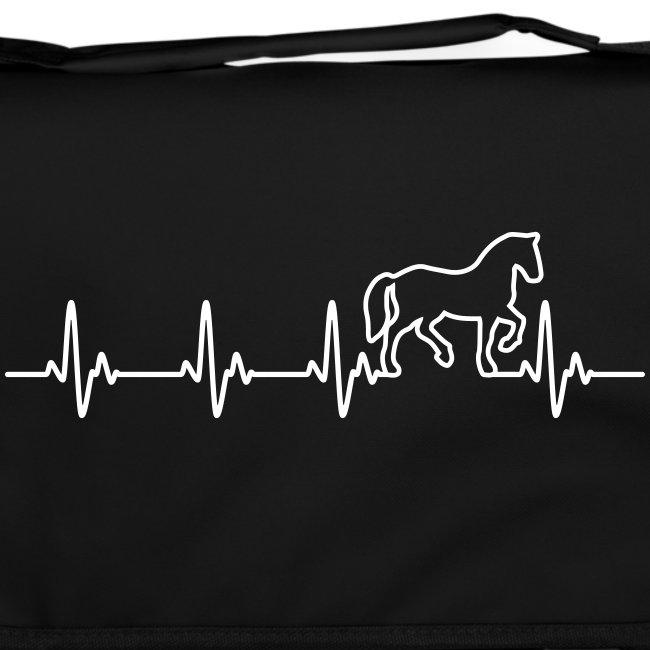 Vorschau: Horse Heartbeat - Umhängetasche