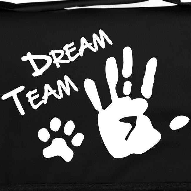 Vorschau: Dream Team Hand Hundpfote - Umhängetasche
