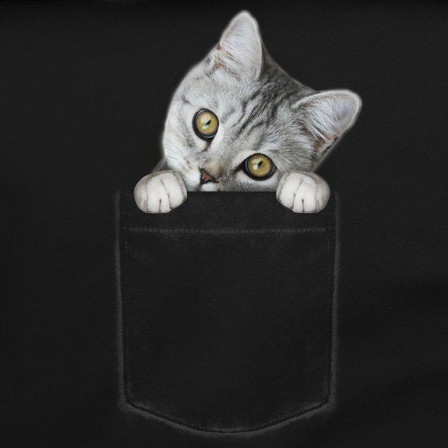 Vorschau: cat pocket - Umhängetasche