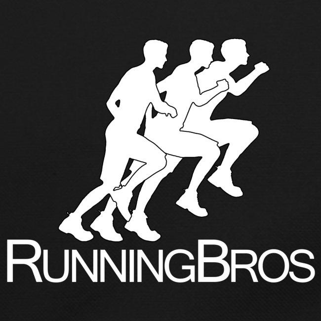 RunningBros Logo weiß