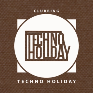 logo_techno_holiday_2017_blanco - Schoudertas